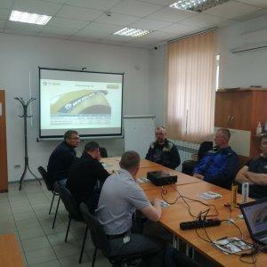 """Механизаторы на обучении в ТСК """"Техника"""""""