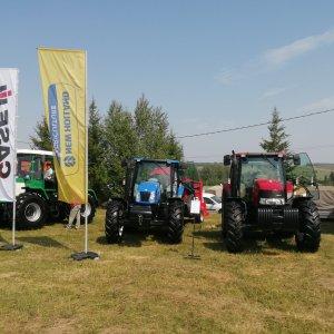 Трактор New Holland T6050, трактор Case IH Maxxum 125